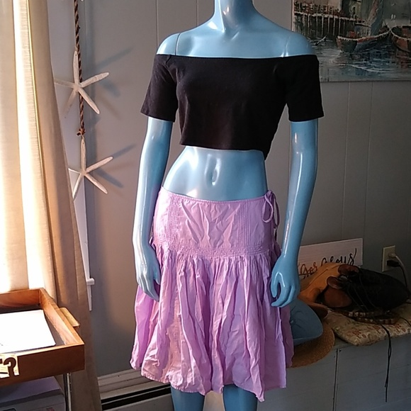 Calvin Klein Jeans Dresses & Skirts - CK Jeans Pleated Lilac Skirt